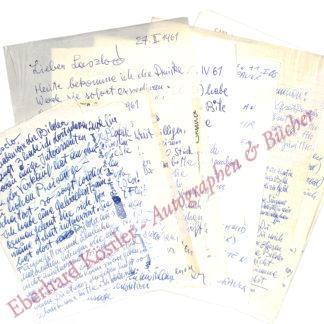Brauer, Arik (Erich), Maler, Grafiker, Bühnenbildner, Sänger und Dichter (geb. 1929).
