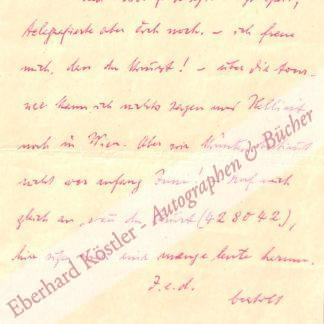 Brecht, Bertolt, Schriftsteller (1898-1956).