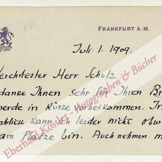 Benrath, Henry (d. i. Albert Henry Rausch), Schriftsteller (1882-1949).