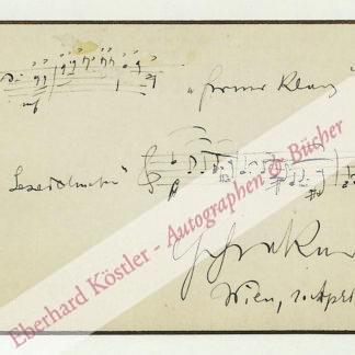 Schreker, Franz, Komponist (1878-1934).