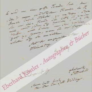 Humboldt, Alexander von, Naturforscher und Geograph (1769-1859).