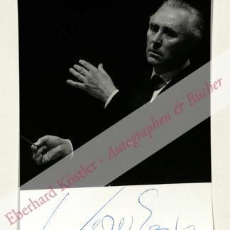 Egk, Werner, Komponist (1901-1983).
