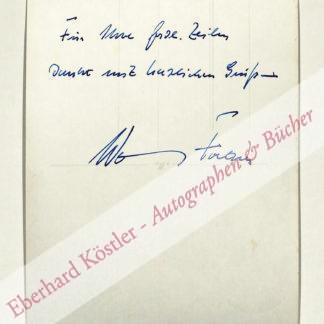Fortner, Wolfgang, Komponist (1907-1987).