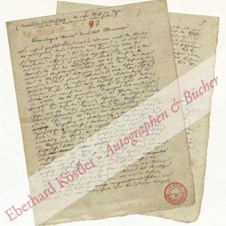 Becker, Julius, Komponist und Musikschriftsteller (1811-1859).