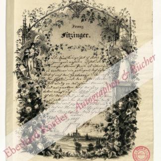 Fitzinger, Franz, Schriftsteller (1800-1871).