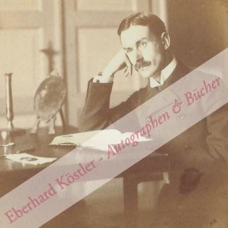 Mann, Thomas, Schriftsteller und Nobelpreisträger (1875-1955).