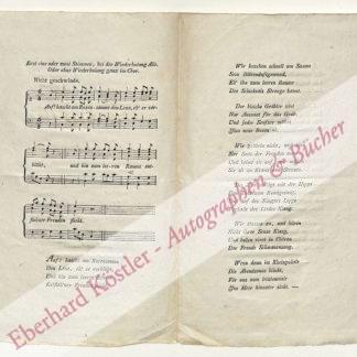 Banck (Bank), Johann Carl Heinrich, Komponist (1770-1842).