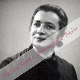 Hamburger, Käte, Literaturwissenschaftlerin und Philosophin (1896-1992).