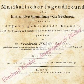 Lindner, Friedrich Wilhelm, Pädagoge (1779-1864).