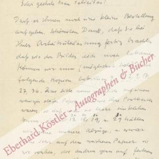 Münter, Gabriele, Malerin (1877-1962).