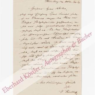 Kirchhoff, Gustav Robert, Physiker (1824-1887).
