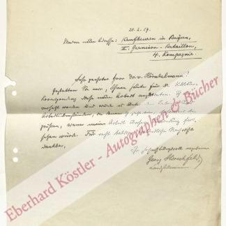 Hirschfeld, Georg, Schriftsteller (1873-1942).