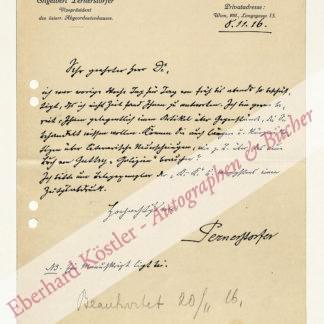 Pernerstorfer, Engelbert, Politiker und Journalist (1850-1918).