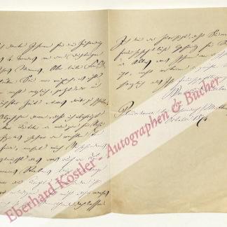Auerbach, Berthold, Schriftsteller (1812-1882).