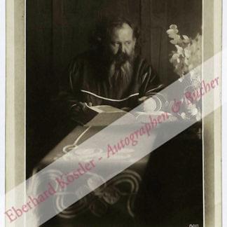 Bahr, Hermann, Schriftsteller (1863-1934).