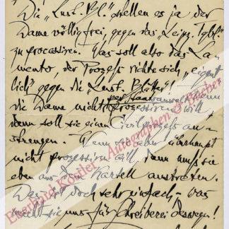 Dehmel, Richard, Schriftsteller (1863-1920).