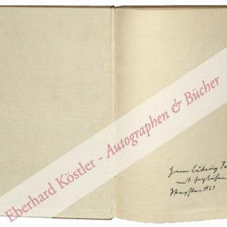 Piper, Reinhard, Verleger (1879-1953).