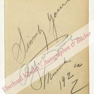 Piccaver (eig. Peckover), Alfred, Opernsänger, Tenor (1884-1958).