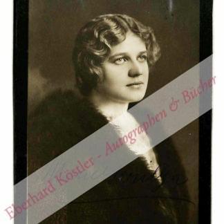 Jeritza, Maria, Sängerin (1887-1982).