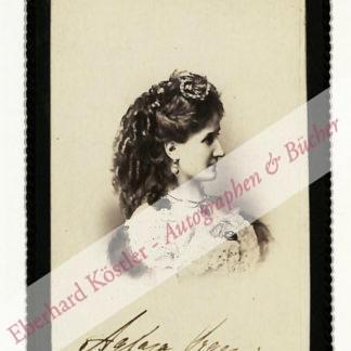Orgeni, Aglaja, Sängerin (1841-1926).