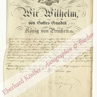 Wilhelm I.,, deutscher Kaiser, König von Preußen (1797-1888).
