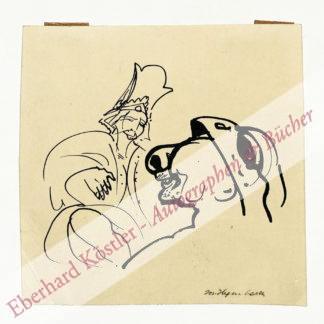 Hegenbarth, Josef, Maler und Graphiker (1884-1962).