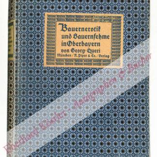 Queri, Georg, Schriftsteller (1879 -1919).