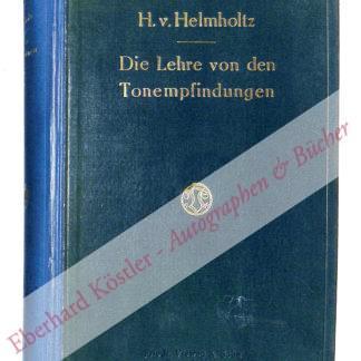 Helmholtz, Hermann von, Physiker (1821-1894).