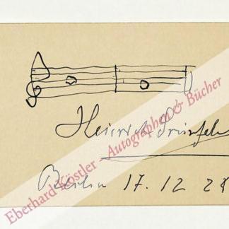 Grünfeld, Heinrich, Cellist und Musikpädagoge (1855-1931).