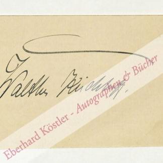 Kirchhoff, Walter, Opernsänger (1879-1951).