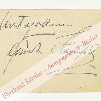 Hempel, Frieda, Opernsängerin (1885-1955).