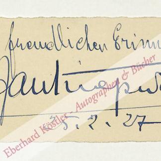 Kiepura, Jan, Opernsänger und Schauspieler (1902-1966).