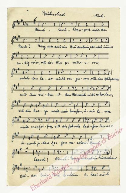 Nick, Edmund, Komponist (1891-1974).
