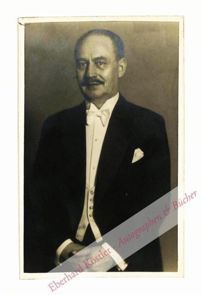 Lincke, Paul, Komponist (1866-1946).
