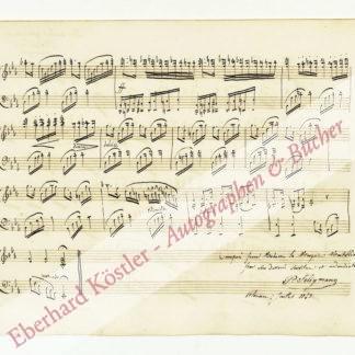 Seligmann, Hippolyte Prosper, Cellist und Komponist (1817-1882).