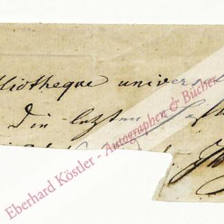 Goethe, Johann Wolfgang von, Schriftsteller (1749-1832).