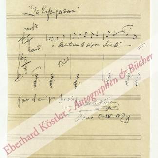 Viña Manteola, Facundo de la, Komponist (1876-1952).