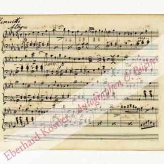 Wolff, Heinrich, Violinist und Komponist (1813-1898).