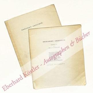 Penzoldt, Ernst (Pseud. Fritz Fliege), Grafiker und Schriftsteller (1892-1955).