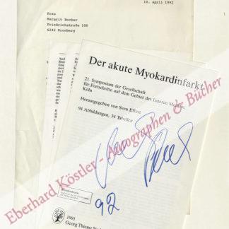 Reich-Ranicki, Marcel, Literaturkritiker (1920-2013).