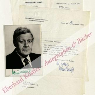 Schmidt, Helmut, Politiker, Bundeskanzler (1918-2015).