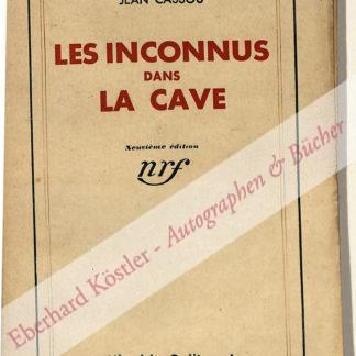 Cassou, Jean, Schriftsteller (1897-1986).