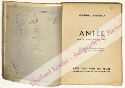 Audisio, Gabriel, Schriftsteller (1900-1978).