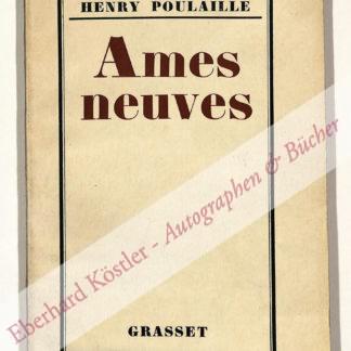 Poulaille, Henry, Schriftsteller (1896-1980).