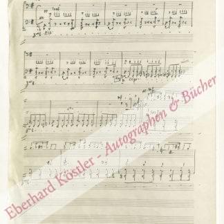 Auric, Georges, Komponist (1899-1983).
