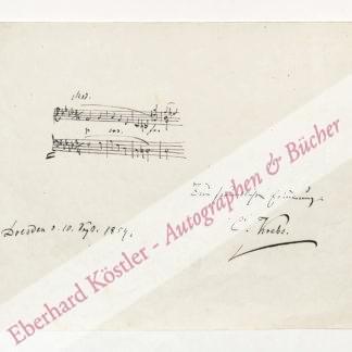 Krebs, Karl August, Komponist (1804-1880).