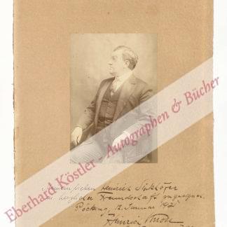Knote, Heinrich, Sänger, Tenor (1870-1953).