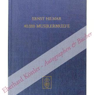 Hilmar, Ernst (Hrsg.),  .