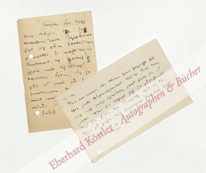 Bie, Oskar, Schriftsteller und Kunsthistoriker (1864-1938).
