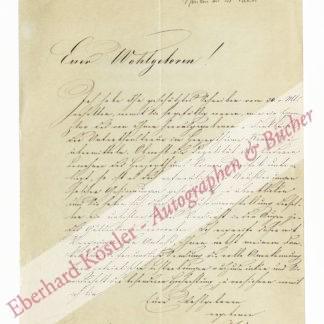 Baumgartner, Andreas von, Naturwissenschaftler und Staatsmann (1793-1865).